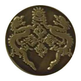 Antique Bronze Lapel Pin Metal