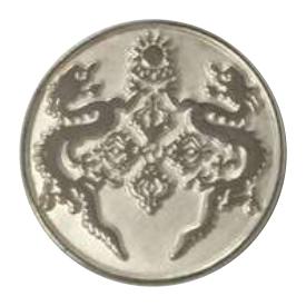 Foggy Silver Lapel Pin Metal